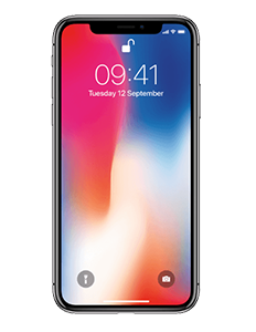 Reparatie-APPLE-iPhone-X-64GB-Zwart
